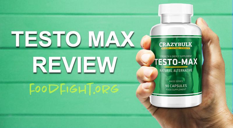 Crazy Bulk Testo Max Reviews